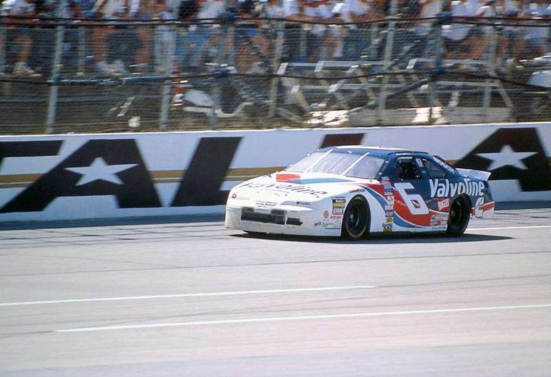 Mark Martin drove #6 to victory in the 1997 Winston 500 at Talladega Superspeedway, a NASCAR Winston Cup series event.