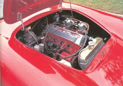 1959-1963 lotus elite engine red