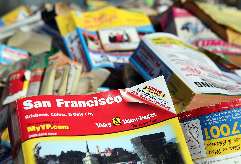 phone books of the 20th century