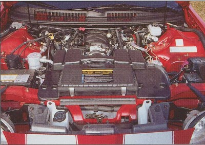 2002 35th Anniversary Chevrolet Camaro SS, Engine
