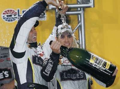 2006 NASCAR NEXTEL Cup Champion Jimmie Johnson