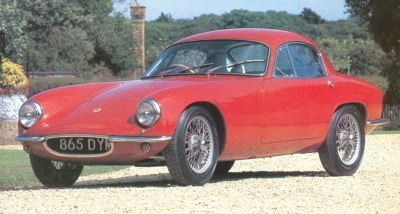 1959-1963 lotus elite red side view