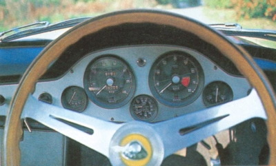 1959-1963 lotus elite steering wheel