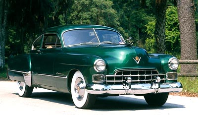 The 1948 Cadillac Series 61 Sedanet, part of the 1948-1949 Cadillac Series Sixty-One Sedanet line of collectible cars.