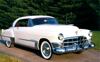 The 1949 Cadillac Series Sixty-Two Coupe DeVille, a collectible car