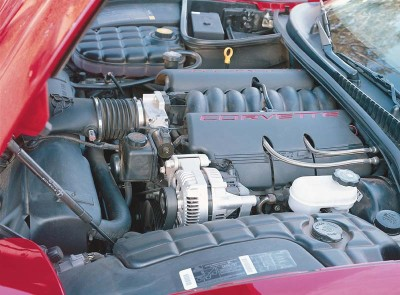The 1997 Corvette featured a more sophisticated new all-aluminum 350-cid LS1 V-8.