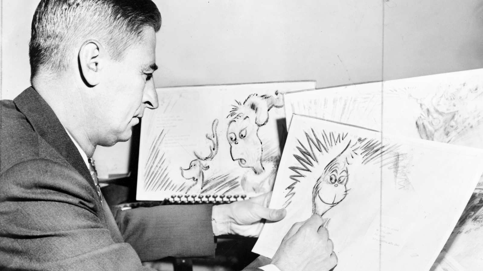 Was the Grinch Based on Dr. Seuss?