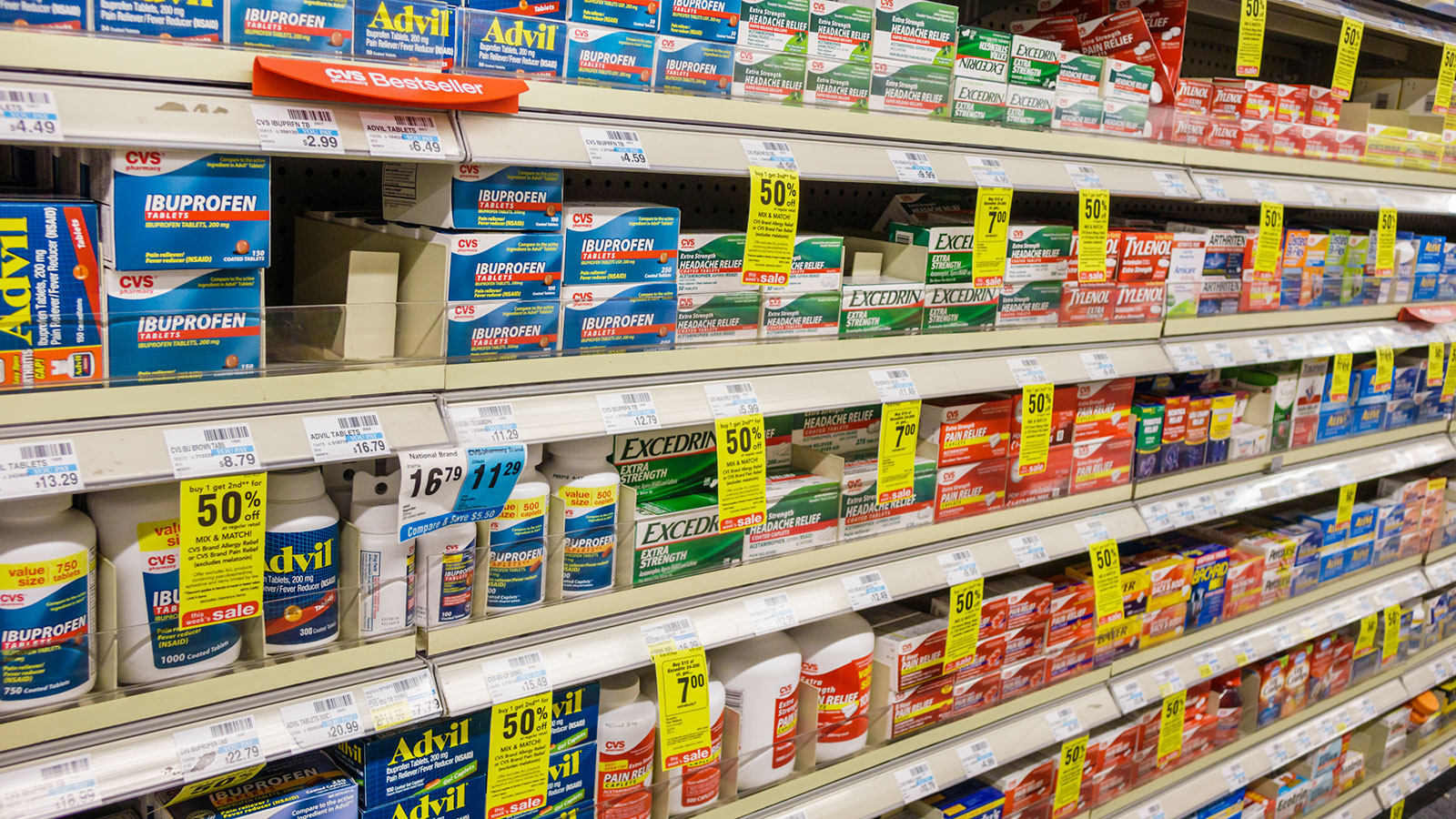 What's the Difference Between Aspirin, Ibuprofen and Acetaminophen?