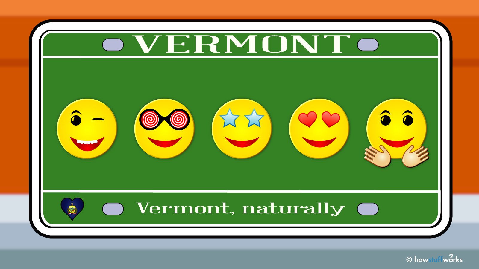 Want an Emoji on Your License Plate? Move to Vermont!