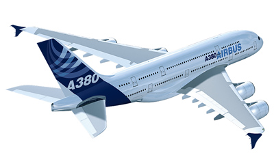 The A380 proposes a challenge to existing airports.