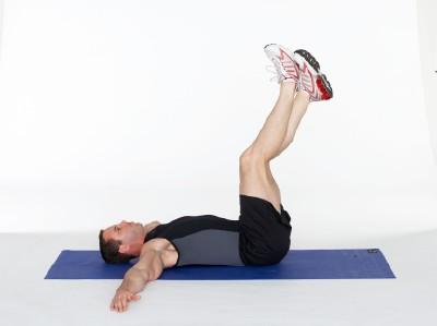 Reverse Hip Lift Step 1