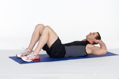 Abdominal and Lower Back Workout Step 2