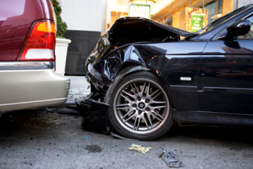What happens if you get into an accident and don't have