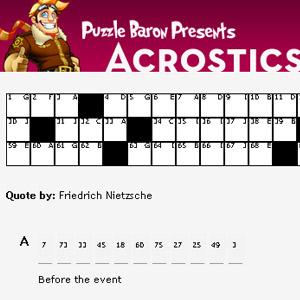 Solving Acrostic Puzzles - How Acrostic Puzzles Work