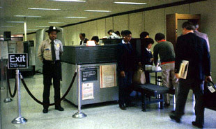 Step Through, Please: X-Ray System - How Airport Security