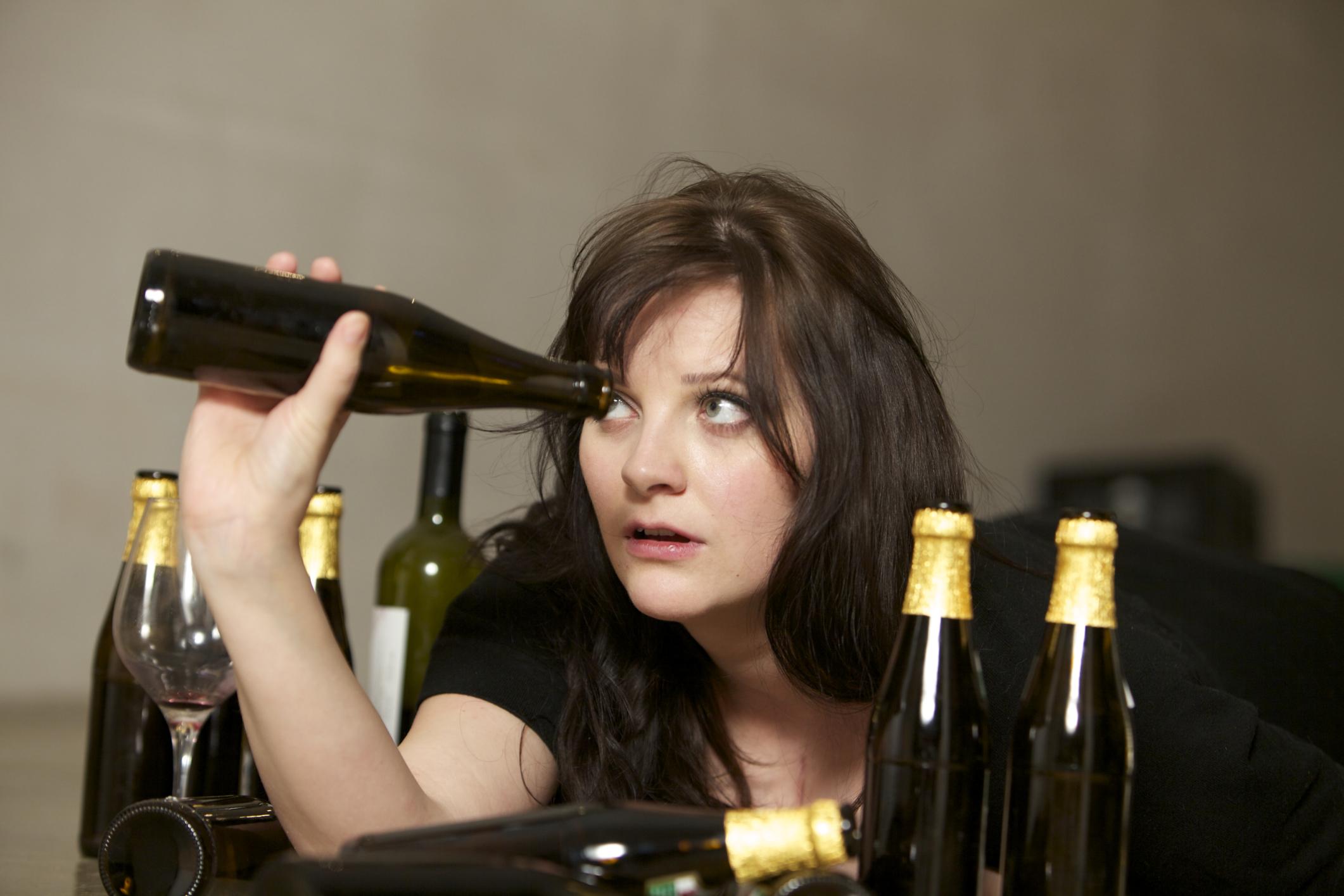 Женщины алкоголики прикольные картинки