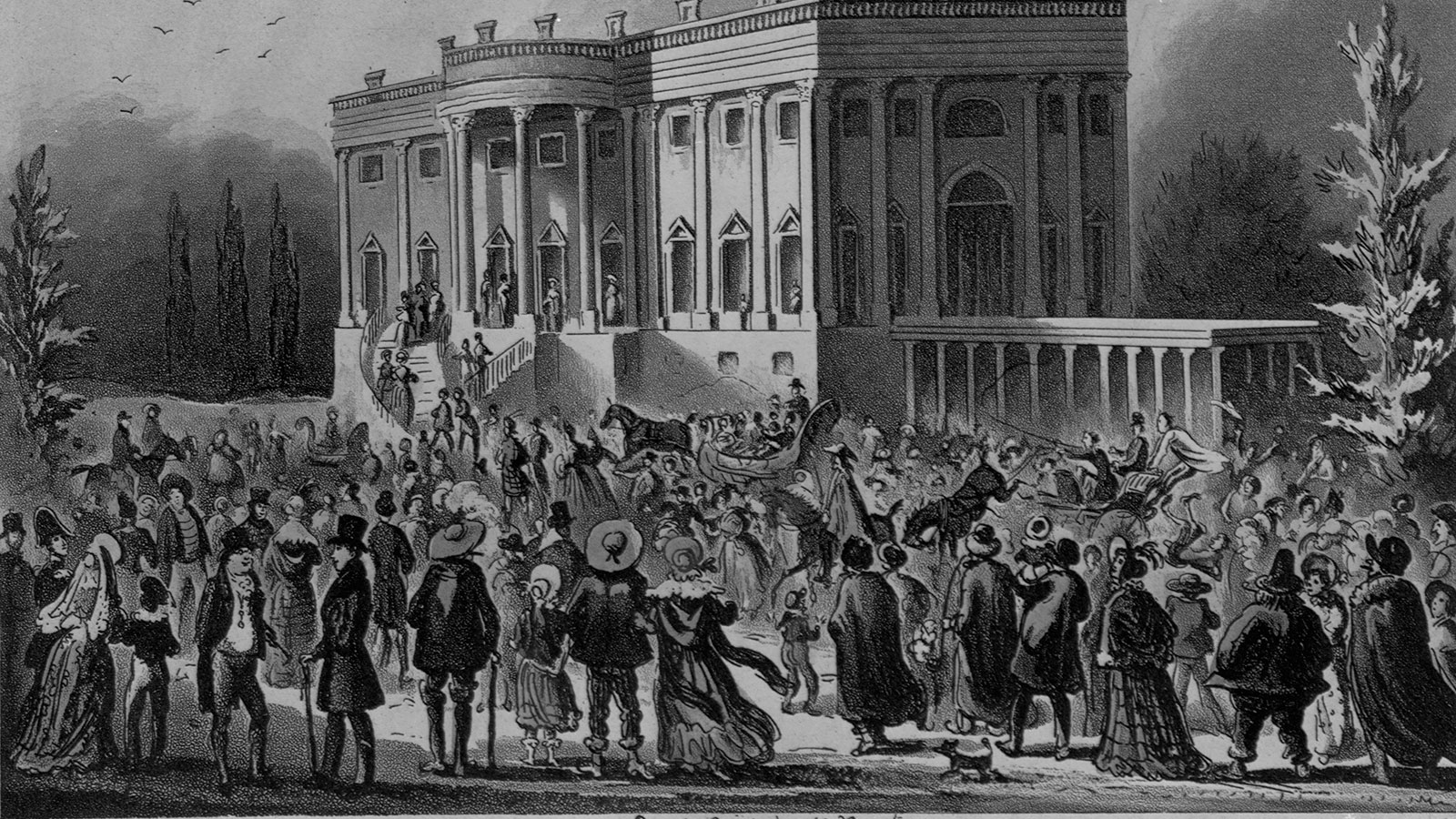 Was the White House Really Trashed at Andrew Jackson's First Inauguration?
