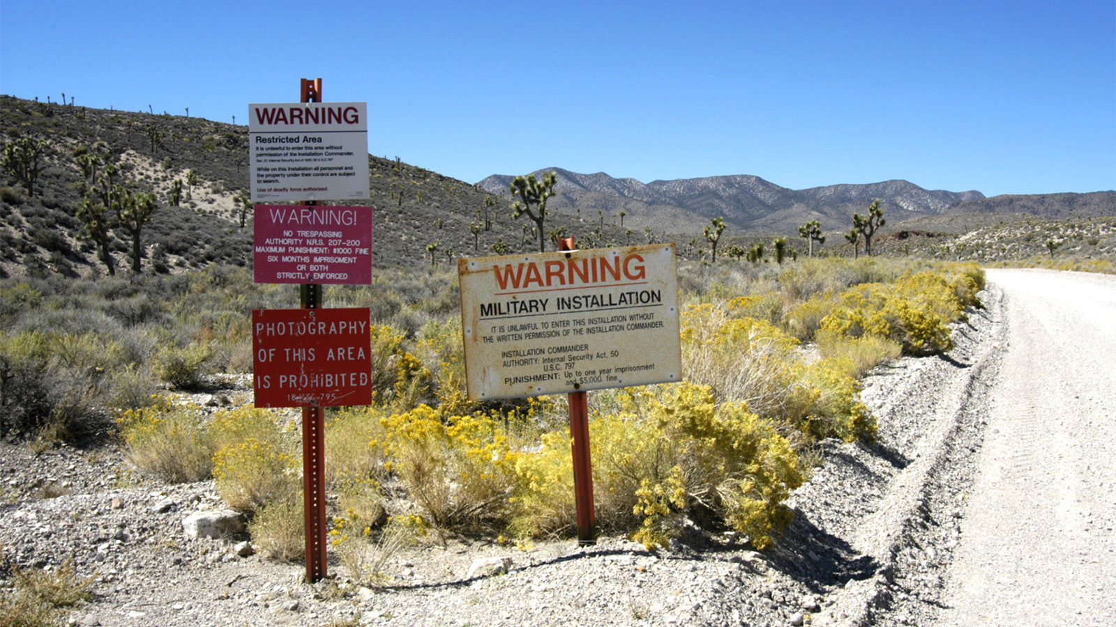 Getting to Area 51 - Area 51 Security | HowStuffWorks