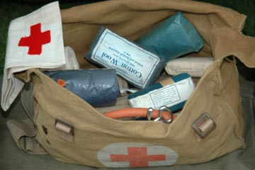 What's in an Army first aid kit?
