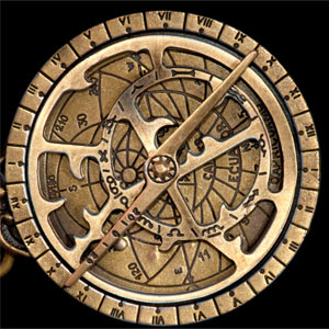 Image of an astrolabe