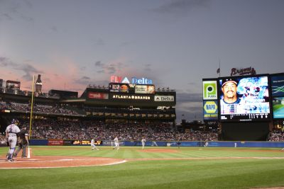 Atlanta is home to baseball's Braves.