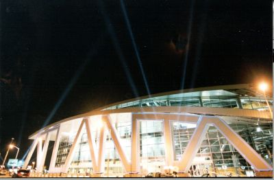 Phillips Arena in Atlanta draws major entertainment acts.