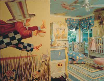 Curiouser And Baby Nursery Decorating Idea