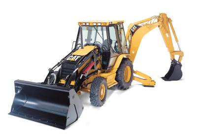 Attaching Different Tools - How Caterpillar Backhoe Loaders