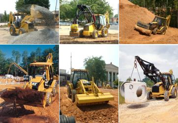 Hydraulics in the Loader - How Caterpillar Backhoe Loaders