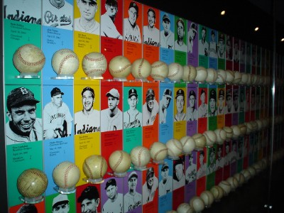 National Baseball Hall of Fame exhibit