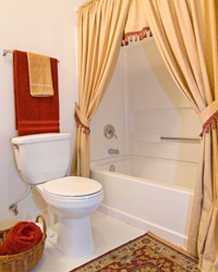 4 Shower It With Details 5 Bathroom Decorating Ideas On A Budget