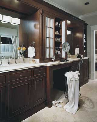Master Bath Decorating - Bathroom Decorating Idea: Master ...