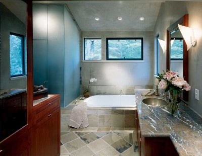 Simple And Elegant Bath Bathroom