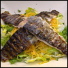 BBQ Rainbow Trout with Honey and Mustard