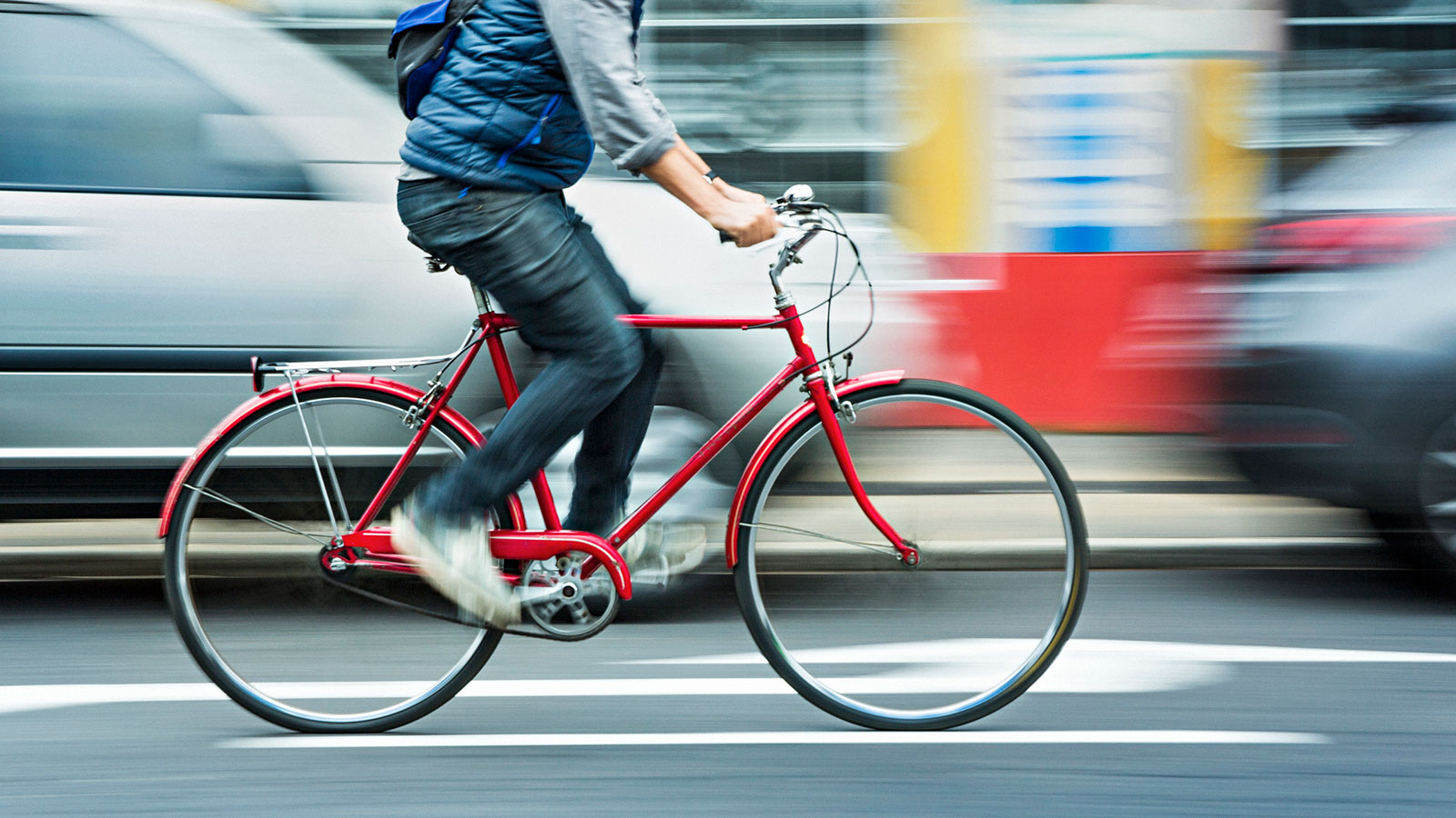 Do Bikes Slow Down Car Traffic? Actually, No
