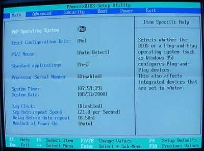 Configuring BIOS - How BIOS Works | HowStuffWorks