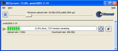 torrent file uploading but not downloading