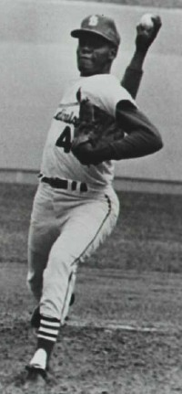 Bob Gibson won award after award, and was an outstanding athelete.