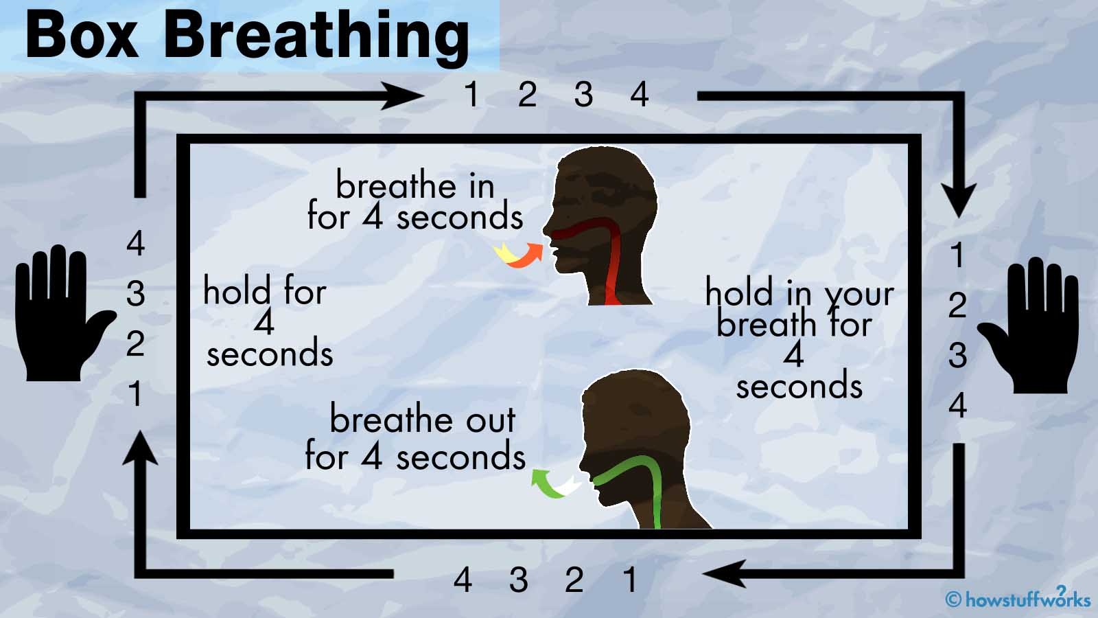 Box Breathing Could Help Curb Your Freak-out Moments