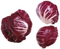 heads of red cabbage