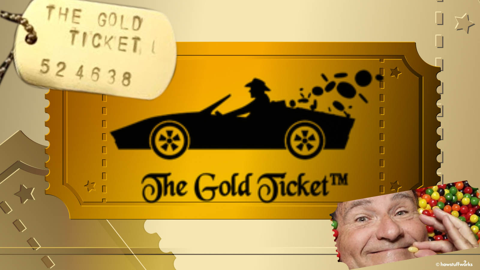 Find a Gold Ticket, Win a Candy Factory. For Real