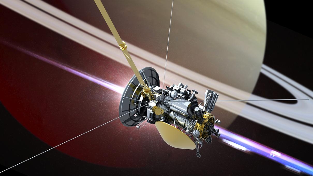 serie nasas cassini spacecraft - 1210×681