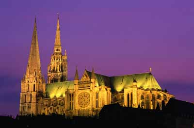 Spared major alteration over the centuries, Chartres Cathedral maintains a rare architectural unity.
