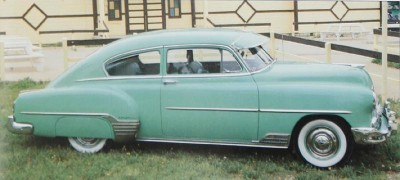 1952 Chevrolet Fleetline DeLuxe sedan