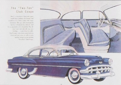 1954 Chevrolet Two-Ten Club Coupe advertisement