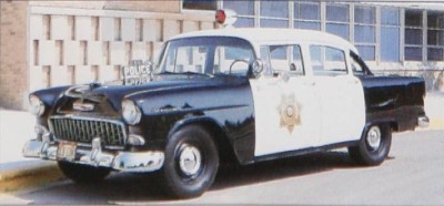 1955 Chevrolet One Fifty Police Car