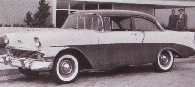 1956 Chevrolet Two-Ten sedan