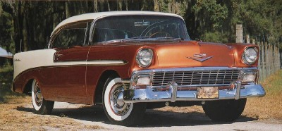 1956 Chevrolet Bel Air Sport Coupe