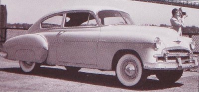 Chevrolet Styleline Deluxe Sport Coupe