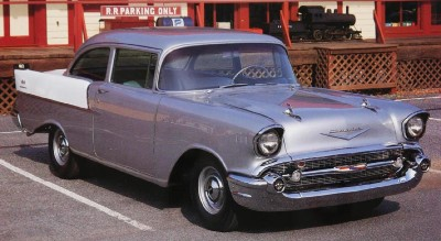 1957 Chevrolet One-Fifty Utility Sedan